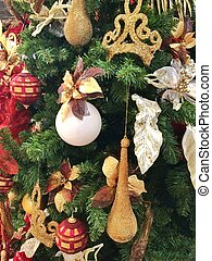 joyeux noël, décoration