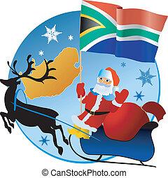 joyeux noël, sud, africa!