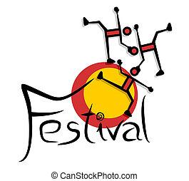 Joyful festival - Creative design of joyful festival