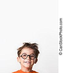 Joyful kid