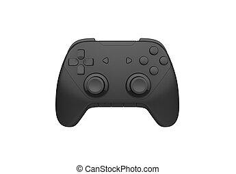 joystick on a white background