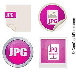 Jpg icon set