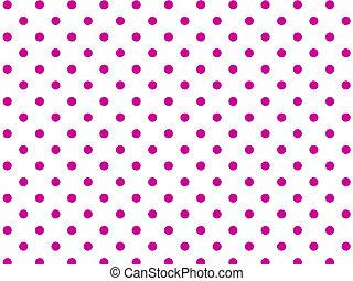 Jpg Pink Polka Dots - Jpg White background with pink polka ...