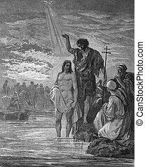 juan, bautizado, jesús