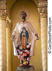 Juan Diego Statue Mexico - Statue of Indian Peasant Juan...