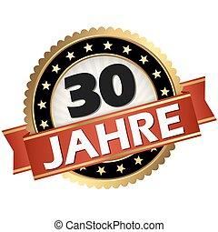 jubilee button 30 years