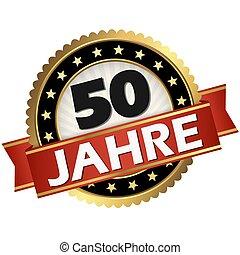 jubilee button 50 years