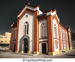judío, sinagoga, eslovaquia, ruzomberok