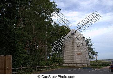 Judah Baker Windmill, South Yarmouth, MA, USA, cape cod