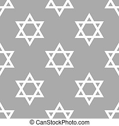 Judaism seamless pattern