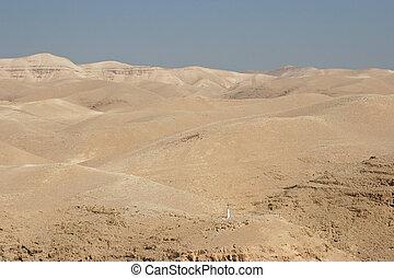 judea, イスラエル, 光景, 交差点, 砂漠
