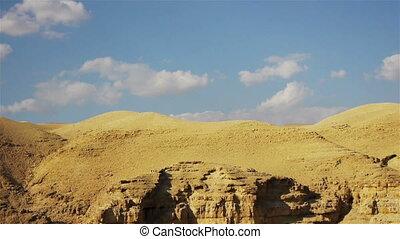 Judean desert time lapse