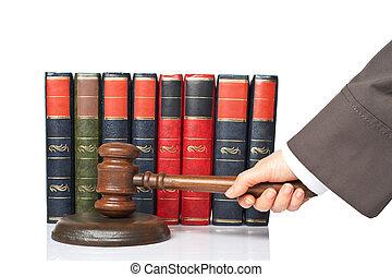 Judge announce the verdict