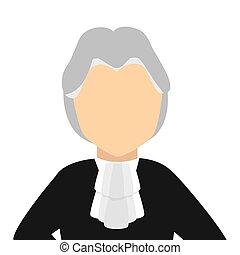 judge avatar character icon