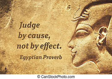 Judge by cause EP - Judge by cause, not by effect - ancient...