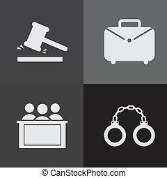 judge design  - judge graphic design , vector illustration