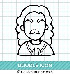 judge doodle