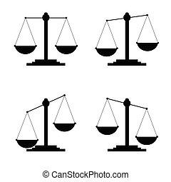 judge icon vector in black color