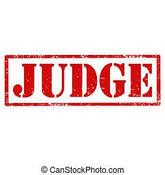 Judge-stamp