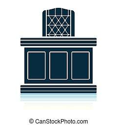 Judge table icon