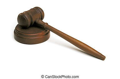 judge\'s, árverezői kalapács, white