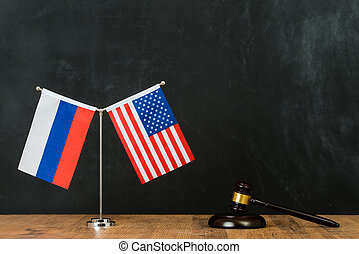 judgment of Russian and American