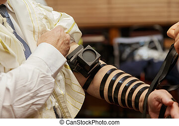 judisk, morgon, bön