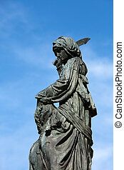 judith, -, シンボル, florentin's, donatello, 像, 自由, holofernes, ...