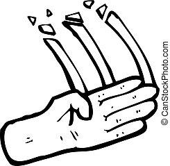 judo chop symbol