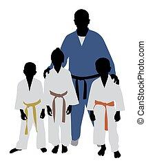 judo, equipo