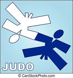 judo wrestling combat