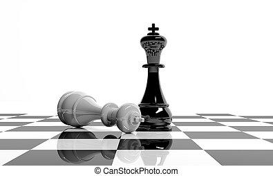 juego, ajedrez