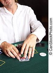 juego, tarjeta