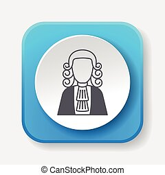juez, icono