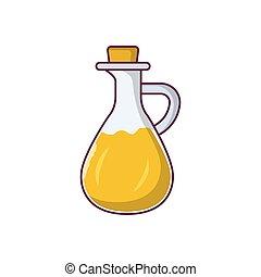 jug  flat color icon