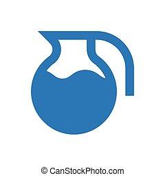 jug  glyph color icon