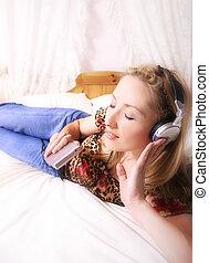 jugador de la música