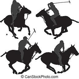 jugador del polo