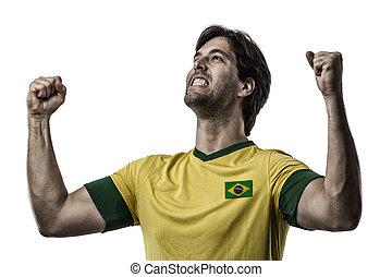 jugador, futbol, brasileño