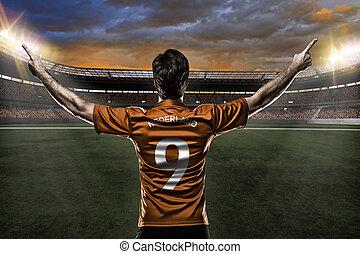 jugador, futbol, dutchman