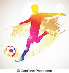 jugador, futbol