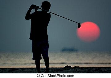 jugador, golf