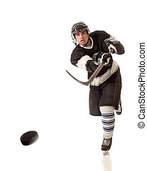 jugador, hockey