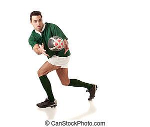 jugador, rugby