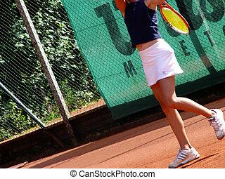 jugador, tenis