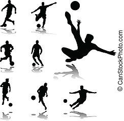 jugadores del fútbol
