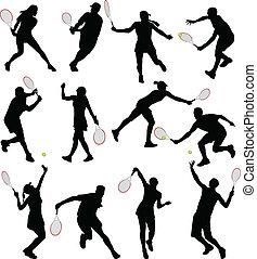 jugadores del tenis