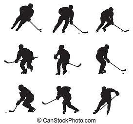 jugadores, hockey