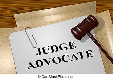 juge, avocat, concept