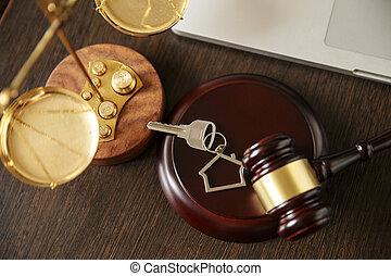 juge, concept, justice, marteau, noir, légalité, clã©, vendange, andold, bois, bibliothèque loi